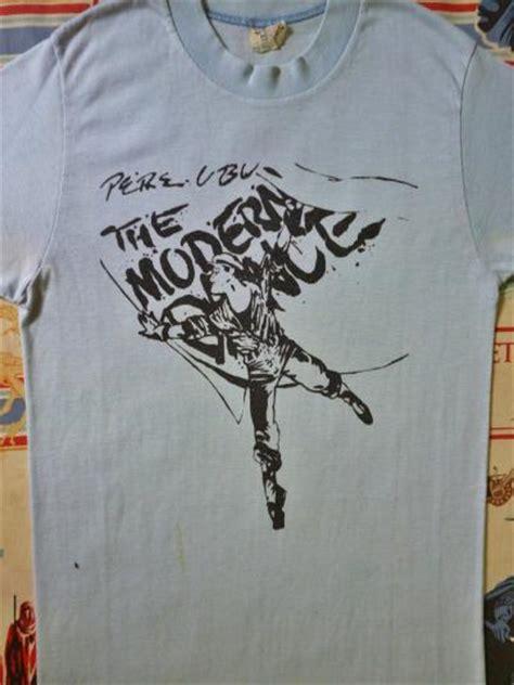 vintage 1978 pere ubu the modern t shirt
