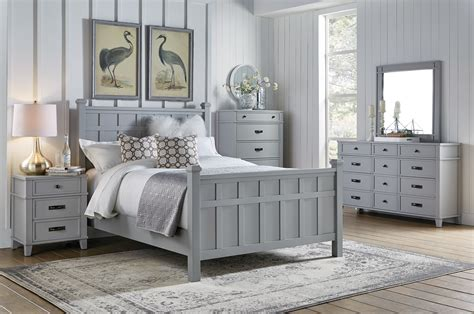 felicity grey pc queen bedroom set