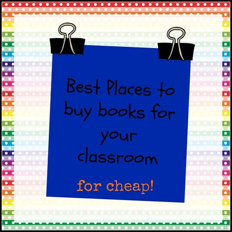 best place to buy a best places to buy classroom books for cheap