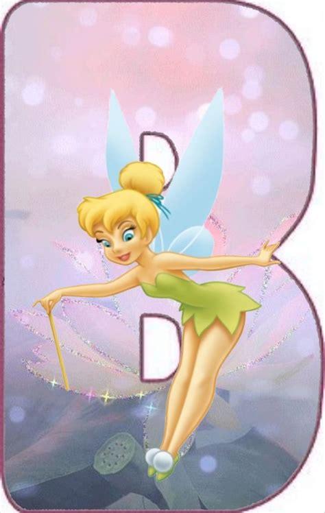 pin  tra  monogram alphabets tinkerbell disney characters disney