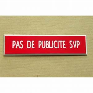 Etiquette Boite Au Lettre : stop pub adh sif usage ext rieur ~ Farleysfitness.com Idées de Décoration