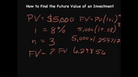 Episode 37 How To Calculate The Future Value Of A Lump