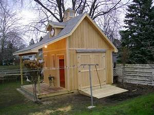 Country Cottage Shed - by RussInMichigan @ LumberJocks com