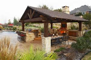 inside stone walls large outdoor shelters rustic outdoor kitchen shelter kitchen ideas