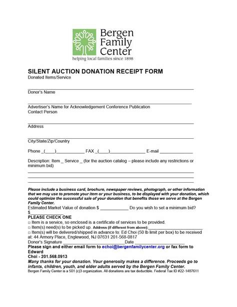 church donation receipt letter template donation receipt letter template clergy coalition