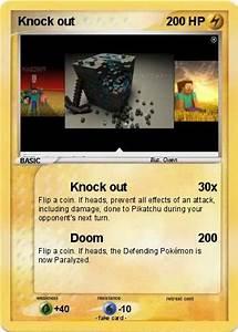 Poku00e9mon Knock Out 7 7 Knock Out My Pokemon Card