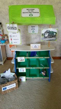 recycling lesson plans for preschool free recycling sorting center for earth day and science 584