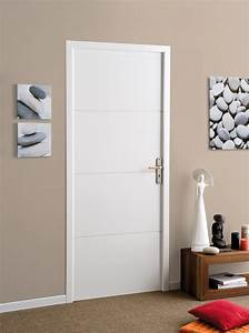 porte interieur moderne blanche sellingstgcom With porte de garage et porte interieur bois moderne