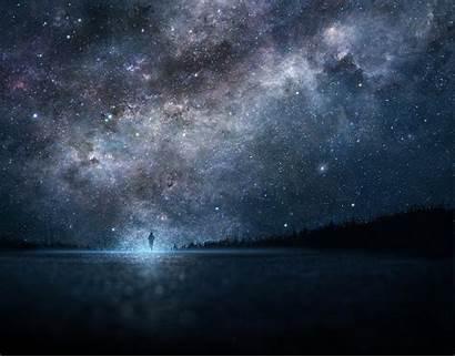 Anime Stars Landscape Wallpapers Galaxy Desktop Mobile