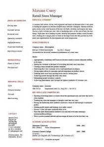 career objective exles for fashion retail stores retail store manager resume resume objective for assistant store manager kabylepro