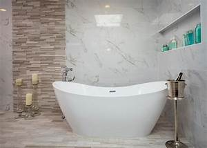 Freestanding, Contemporary, Tub, In, Master, Bathroom, Wet, Room