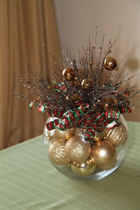holiday centerpieces ideas  pinterest