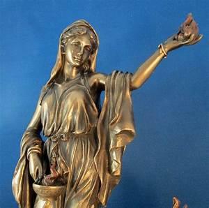 hestia goddess statue   Diana & Vesta   Pinterest   Mythology