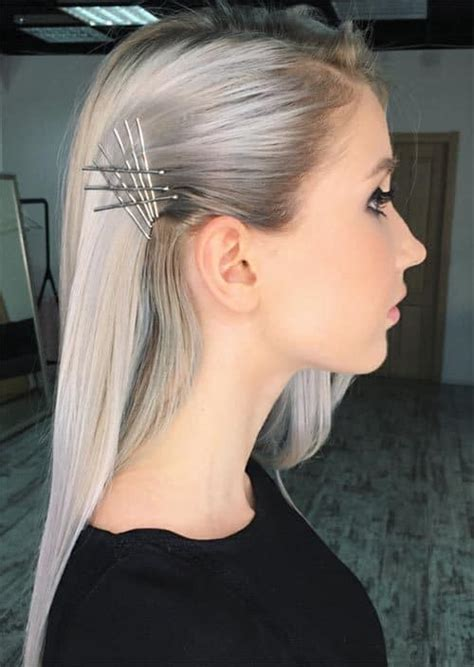 Eye Catching Exposed Bobby Pins Hairstyles That You Have