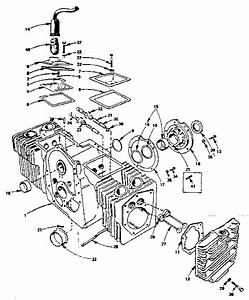 Cylinder Block Diagram  U0026 Parts List For Model