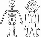 Vampire Coloring Halloween Skeleton Diaries Printable Skeletons Bigactivities Drawing Ghost Fresh Getcolorings Popular Library Clipart Happy Coloringhome Clip sketch template