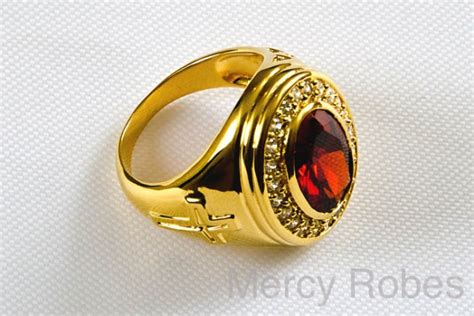 Mens Clergy Ring Style 002 (red)  Mercy Robes. Stylish Rings. Zelda Inspired Wedding Rings. Wood Inlay Rings. Usafa Rings. Maple Leaf Engagement Rings. Average Wedding Wedding Rings. Unique Dainty Wedding Engagement Rings. Mansion Rings
