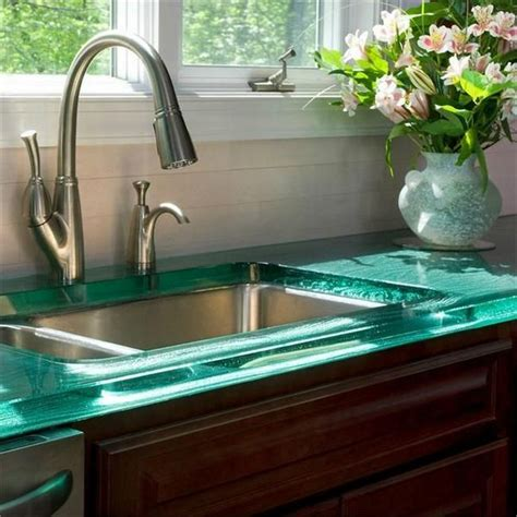 glass countertops   top  elegance decor