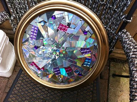 creative ways  recycle   cds demilked