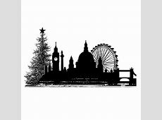 Crafty Individuals CI359 'Christmas City Skyline' Art