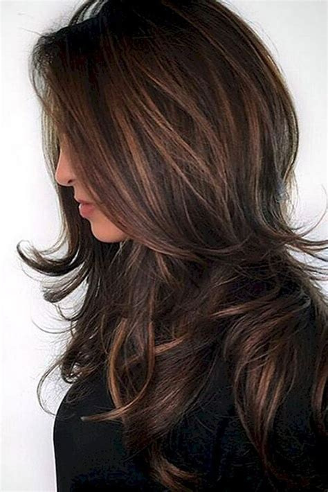 Hair Colour Styles For Brunettes by Best 25 Hair Colors Ideas Only On