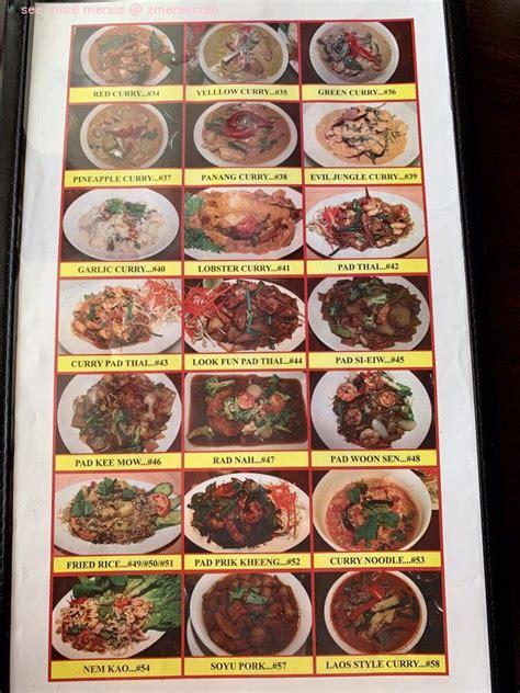 menu  thai village restaurant mililani hawaii
