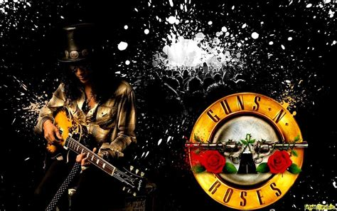 Slash Guns N Roses Wallpapers Wallpaper Cave