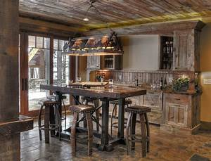 Rustic bar designs home bar rustic with cowboy art leather