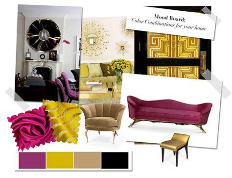 inspirations ideas mood board color combinations
