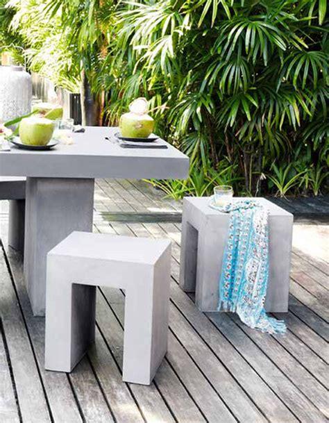 salon de jardin pas cher notre selection de meubles canons pour le jardin elle decoration