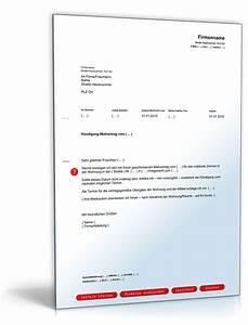 Kündigungsschreiben Wohnung Mieter : k ndigung mietvertrag zimmer fristgem muster zum download ~ Lizthompson.info Haus und Dekorationen
