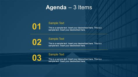 simple agenda   powerpoint