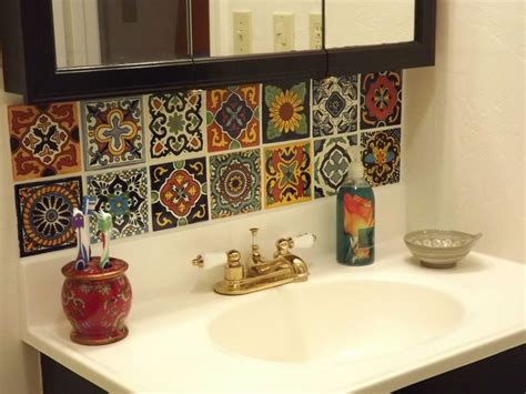 mexican tile kitchen backsplash dusty coyote mexican tile kitchen backsplash diy homes 7485