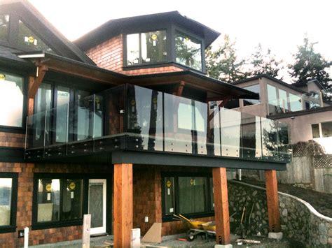 picture gallery   custom glass railings interior