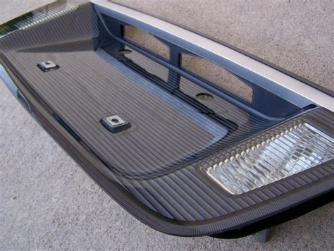 find   acura tl tl trunk lid license plate trim