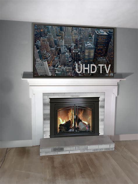 tv  fireplace drop mount hidden wire suggestions