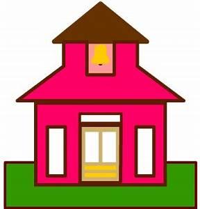 Little Red School House Clip Art