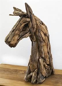Pferdekopf Aus Holz : pferdekopf aus recyceltem holz ~ A.2002-acura-tl-radio.info Haus und Dekorationen