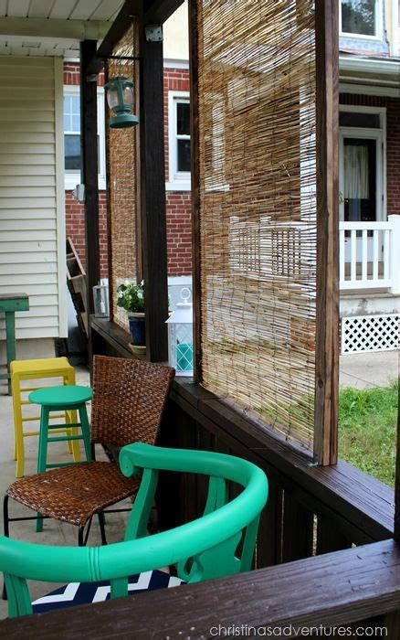 Backyard Privacy Screen by Diy Bamboo Privacy Screen Outdoor Spaces Privacy
