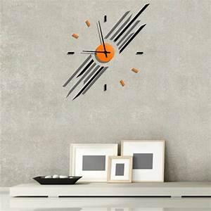 Grande Horloge Murale Originale : horloge originale sun une id e de cadeau original amikado ~ Teatrodelosmanantiales.com Idées de Décoration