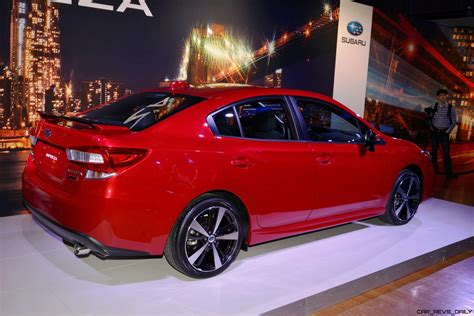 Subaru Impreza Sport by 2017 Subaru Impreza Sport And 5 Door Live Ny Debut 187 Car