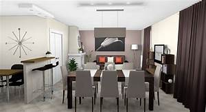 awesome meuble salle a manger gris taupe images amazing With meuble cuisine couleur taupe 16 chaise salle a manger bleu canard