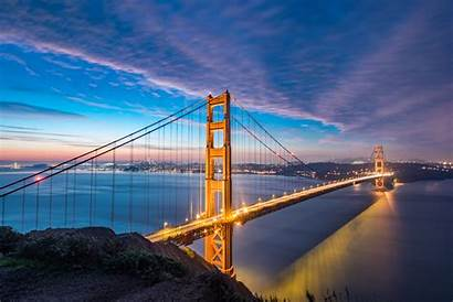 8k Bridge Gate Golden Wallpapers 4k Francisco