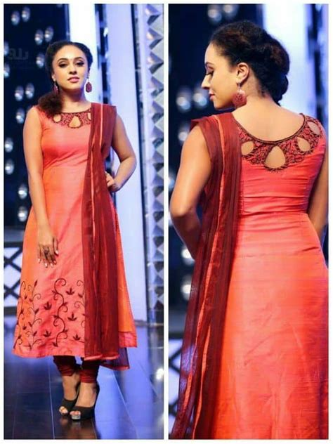 stylish kurta neck designs  women simple craft ideas