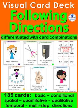 directions  cards  visuals