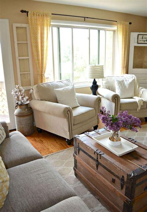 farmhouse living rooms ideas  pinterest