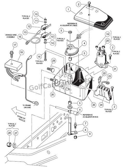 Club Car Xrt Part Diagram by Club Car Xrt 1550 Wiring Diagram Auto Electrical Wiring