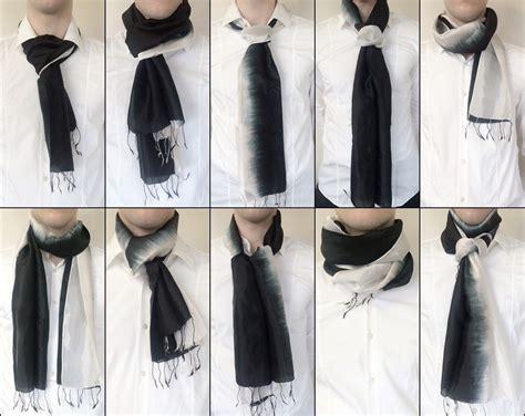 Seidentuch Binden Anleitung by 10 Varianten Einen Seidenschal Zu Binden Your Silk Shop