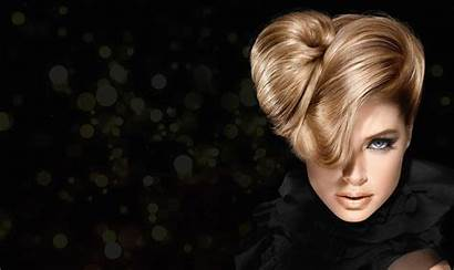 Hairstyle Hair Blonde Wallpapers Background Eyes Fan