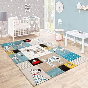 Kinderzimmer Teppich Beige : kinderteppich kinderzimmer konturenschnitt hunde welt beige blau pastellfarben kinderteppiche ~ Whattoseeinmadrid.com Haus und Dekorationen